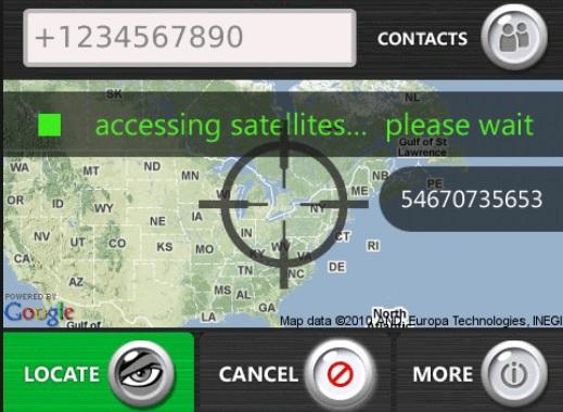 software de localización de móviles